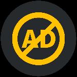 Ads free