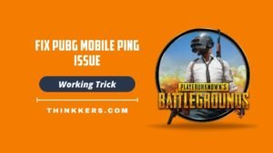 Pubg Mobile ping issue