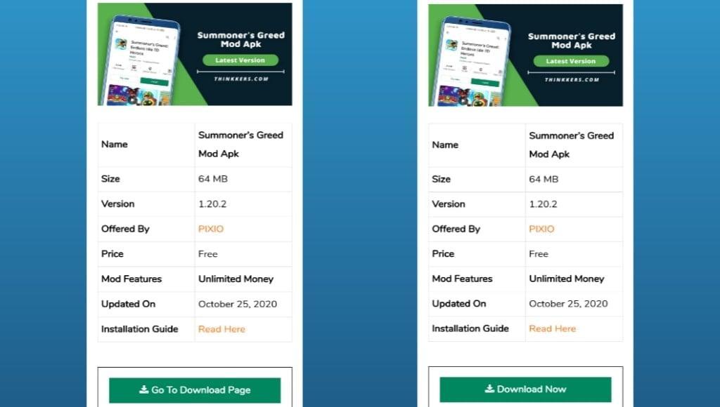 Summoner's Greed Mod Apk Download