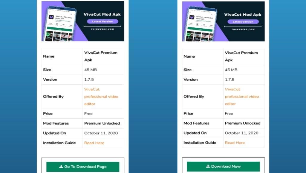 VivaCut premium mod apk