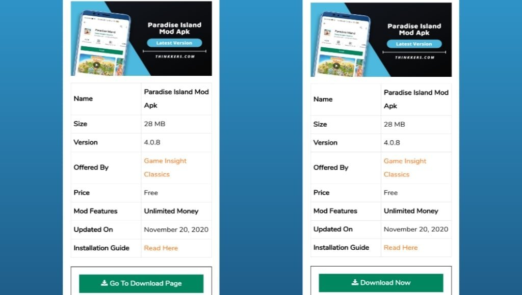 Paradise Island Mod Apk Download