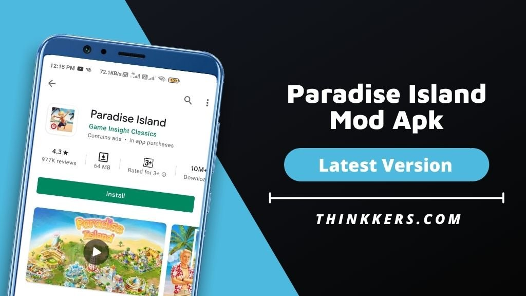 Paradise Island Mod Apk