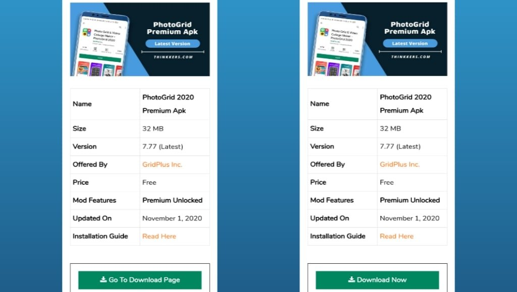 PhotoGrid Premium Apk Download